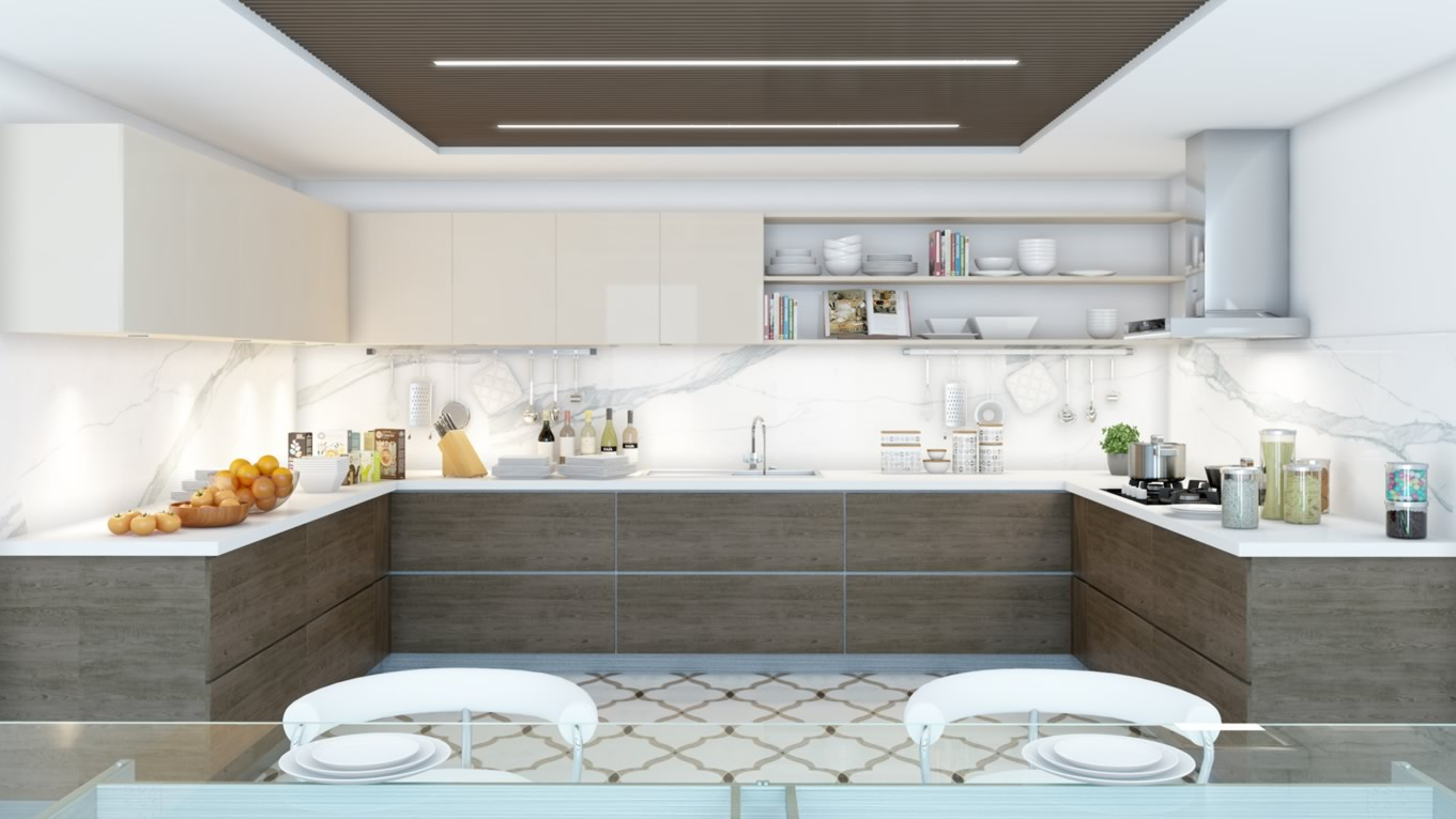 Therefore you would find the presence of pot racks quite common in the modern kitchens. & Modular kitchen Cabinets in Bangalore « Würfel Küche